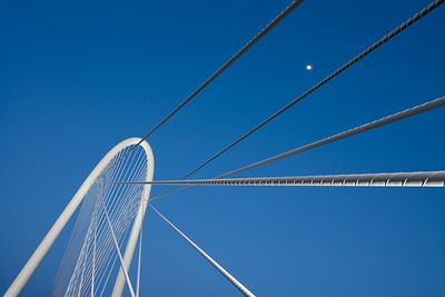 Calatrava Arch with Cables and Moon