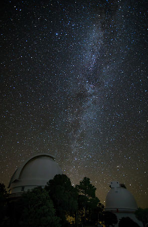 Mt Locke Observatories and the Milky Way