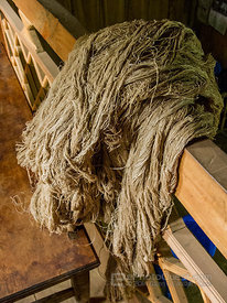 Locally Made Hemp Fiber