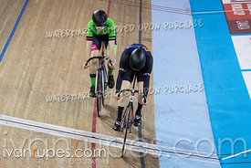 Junior Men Sprint 1/2 Final. Canadian Track Championships (Jr, U17, Para), April 14, 2018