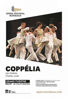 Affiche Coppélia 2016 / Opéra National de Bordeaux