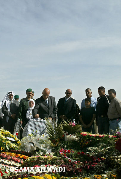 The funeral of Palestinian President Yasser Arafat