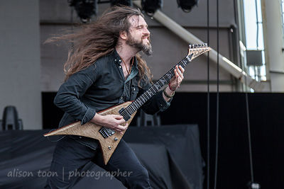 Oli Herbert, guitar, All That Remains