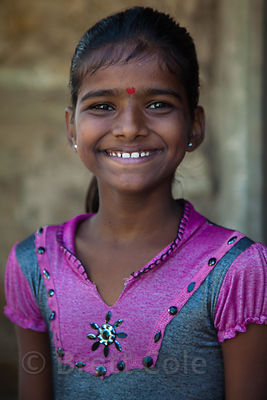 Girl in Udaipur, Rajasthan, India