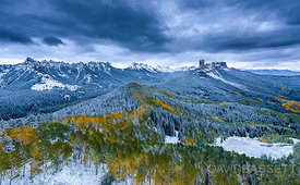 Afternoon Snow | San Juan Mountains, CO