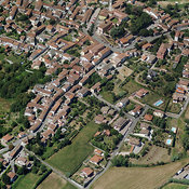 Castelletto Monferrato aerial photos
