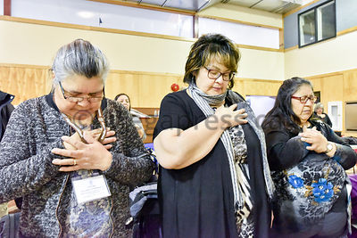 Deeply affected by the crisis of suicides shaking the Attawapiskat community in Northern Ontario, the Cree of Eeyou Istchee show their support.