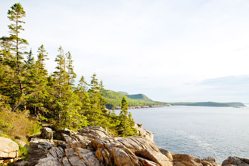 OTTER POINT ACADIA NATIONAL PARK MAINE