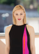 Sarah Gadon attends a photocall in Rome for Dracula Untold.