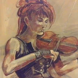 Irish Musicians Series Paintings