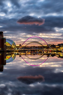 Rogue Cloud above the Tyne