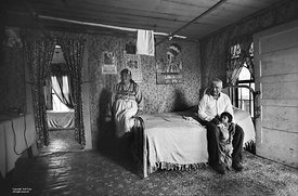 Choctaws, Amos family, bed