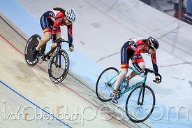 Junior Women Sprint Final. Track O-Cup #2, Milton, On, March 28, 2015