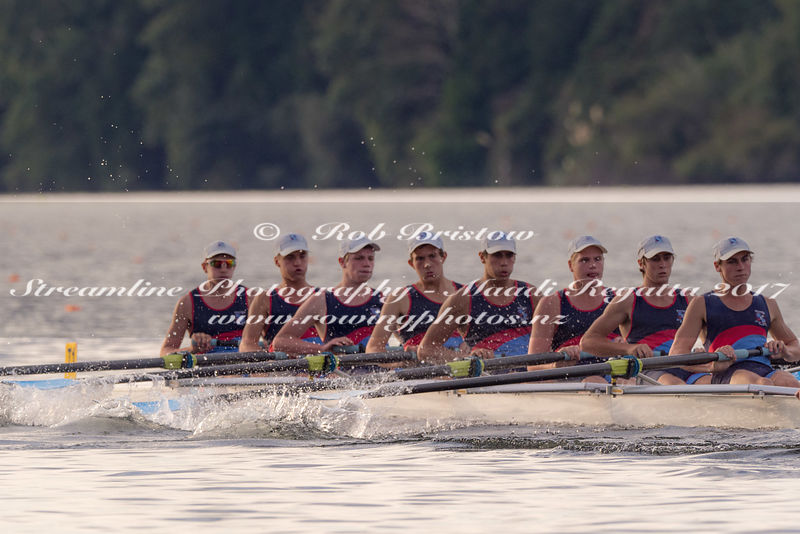 Taken during the NZSSRC - Maadi Cup 2017, Lake Karapiro, Cambridge, New Zealand; ©  Rob Bristow; Frame 3295 - Taken on: Saturday - 01/04/2017-  at 17:59.35