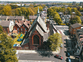 Saint Bede's Toxteth Church in Liverpool City Centre England
