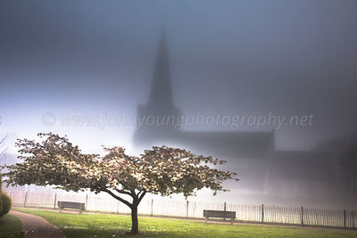 Tarring Church In The Fog photos