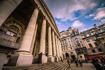 London Travel Photography - Royal Exchange