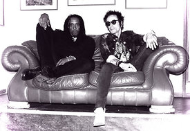 Bernard Fowler and Earl Slick