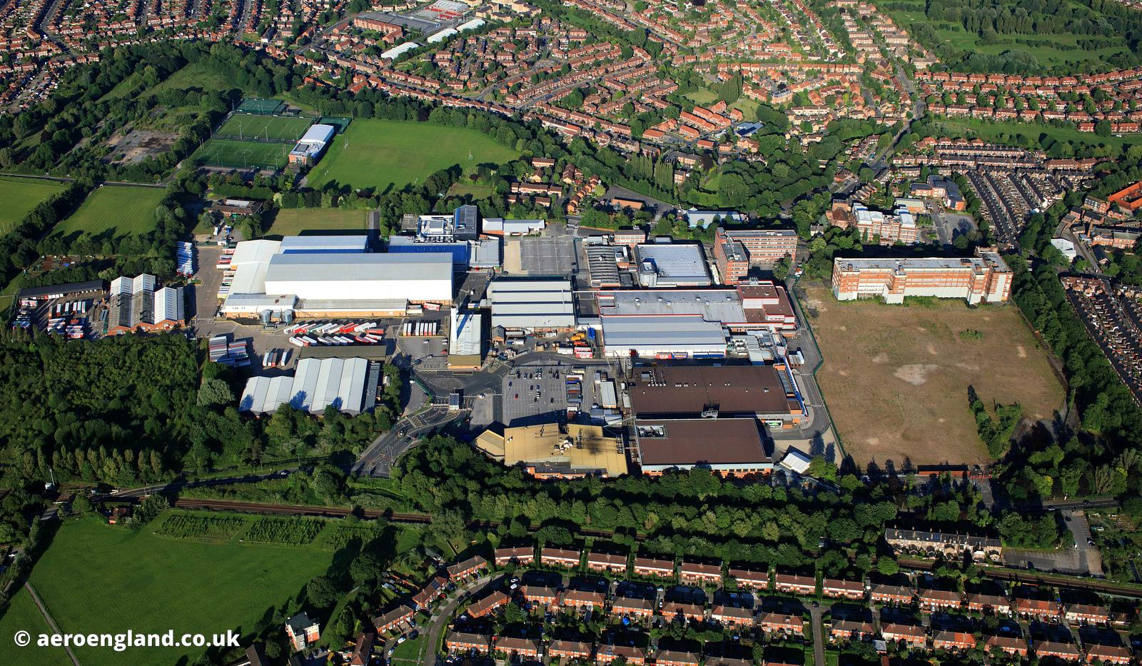 Nestle Chocloate Factory in York
