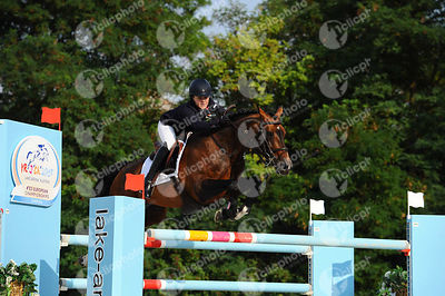 ALLEN Millie, (GBR), BALOU STAR during  competition at European Jumping Championship for Children, Juniors, Young riders at Lake Arena, Wiener Neustadt - Austria