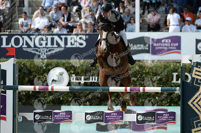 Niklaus RUTSCHI ,(SUI), WINDSOR XV during Longines Cup of the City of Barcelona competition at CSIO5* Barcelona at Real Club de Polo, Barcelona - Spain