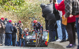 The Cyclist Tobias Ludvigsson - Paris-Nice 2016