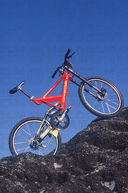 VOLVO CANNONDALE RIDER MYLES ROCKWELL TEAM DOWNHILL MOUNTAIN BIKE 1995