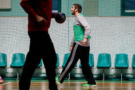 Mirko Alilovic during the Final Tournament - Final Four - SEHA - Gazprom league,Team training in Brest, Belarus, 08.04.2017, Mandatory Credit ©SEHA/ Stanko Gruden