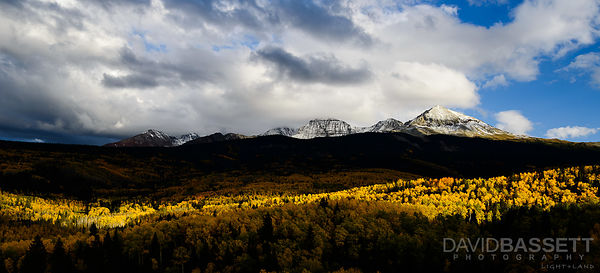 Sliver of Sun | San Juan Mountains, CO