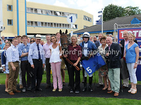 3rd Aug 2013 3.20pm Juvenile Hurdle Race with winner Walter White