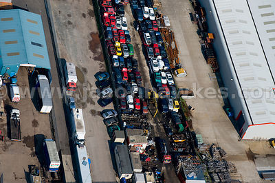 Scrap Yard, Pakefield, Suffolk