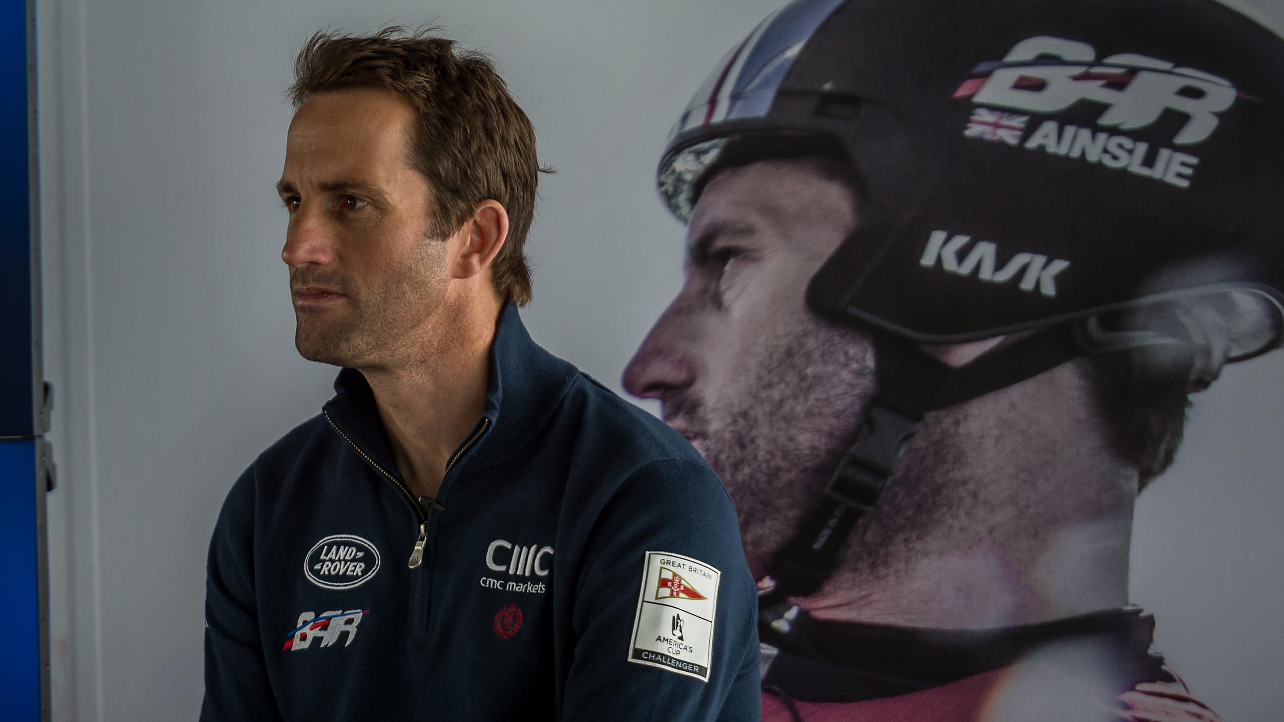 Ben Ainslie at the America's Cup Portsmouth 2015