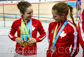 Track Day 4, Toronto 2015 Pan Am Games, Milton Pan Am/Parapan Am Velodrome, Milton, On; July 19, 2015
