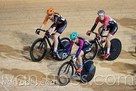 Cat 1 Women Scratch Race. Track O-Cup #2, Mattamy National Cycling Centre, Milton, On, January 15, 2017
