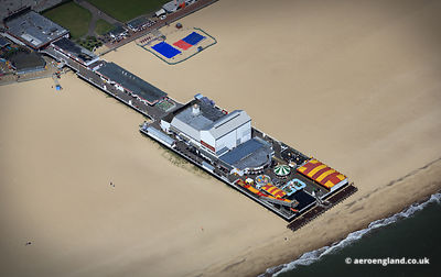 aerial photograph of  Britannia Pier Great Yarmouth