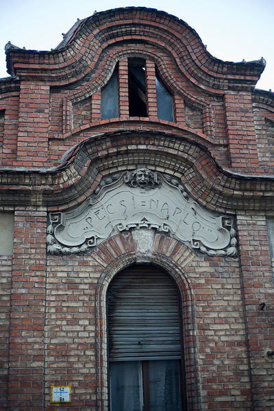 Hungary - Pecs - A disused Art Nouveau printing factory