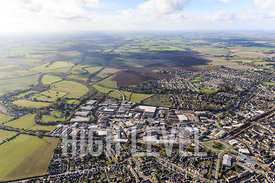 Aerial Photography taken in and around Cirencester, UK.