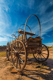 Covered Wagon at Hubbell Trading Post