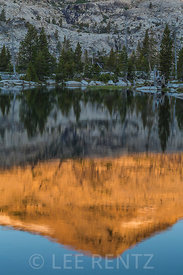 Morning Light on Ropi Lake in the Desolation Wilderness