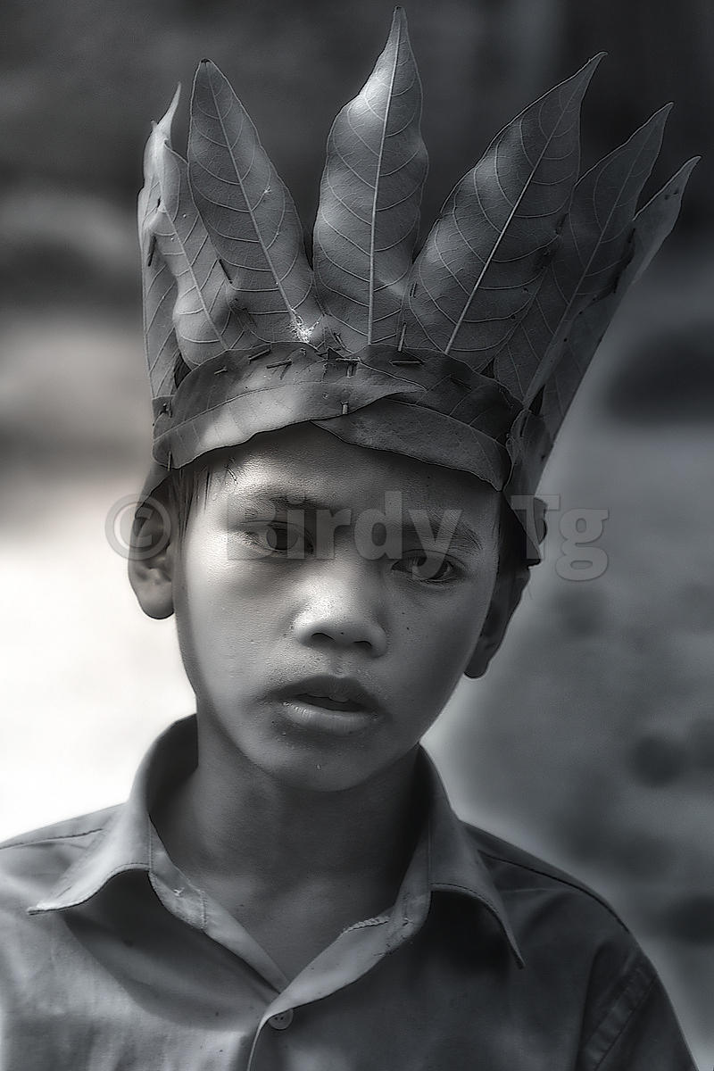 """Young Boy in Ta Prohm - 1"""
