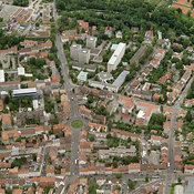 Erlangen aerial photos