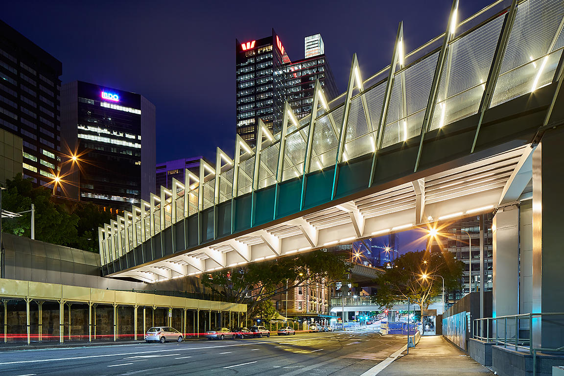 City Walk Footbridge - Barangaroo, Sydney
