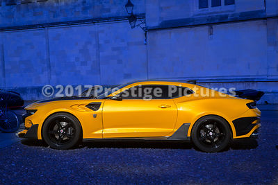Bumblebee - Chevrolet Camaro/Pontiac Firebird  during filming for the Transformers 5 movie