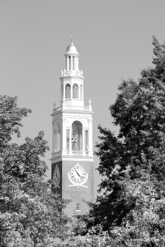 IRA ALLEN CHAPEL UNIVERSITY OF VERMONT BURLINGTON VERMONT CHURCH BLACK AND WHITE