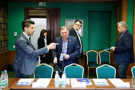 Meeting during the Final Tournament - Final Four - SEHA - Gazprom league, SEHA assembly in Brest, Belarus, 07.04.2017, Mandatory Credit ©SEHA/ Uros Hočevar