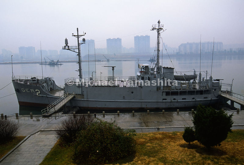 Pueblo Spy Ship, North Korea