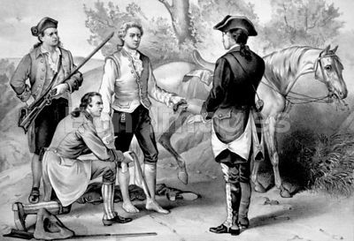John Andre captured by New York militiamen