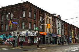 Corner of Queen and Serbourne Streets, Toronto