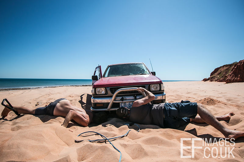 Bogged In The Sand