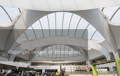 New Street Station in Birmingham, with John Lewis store above.
